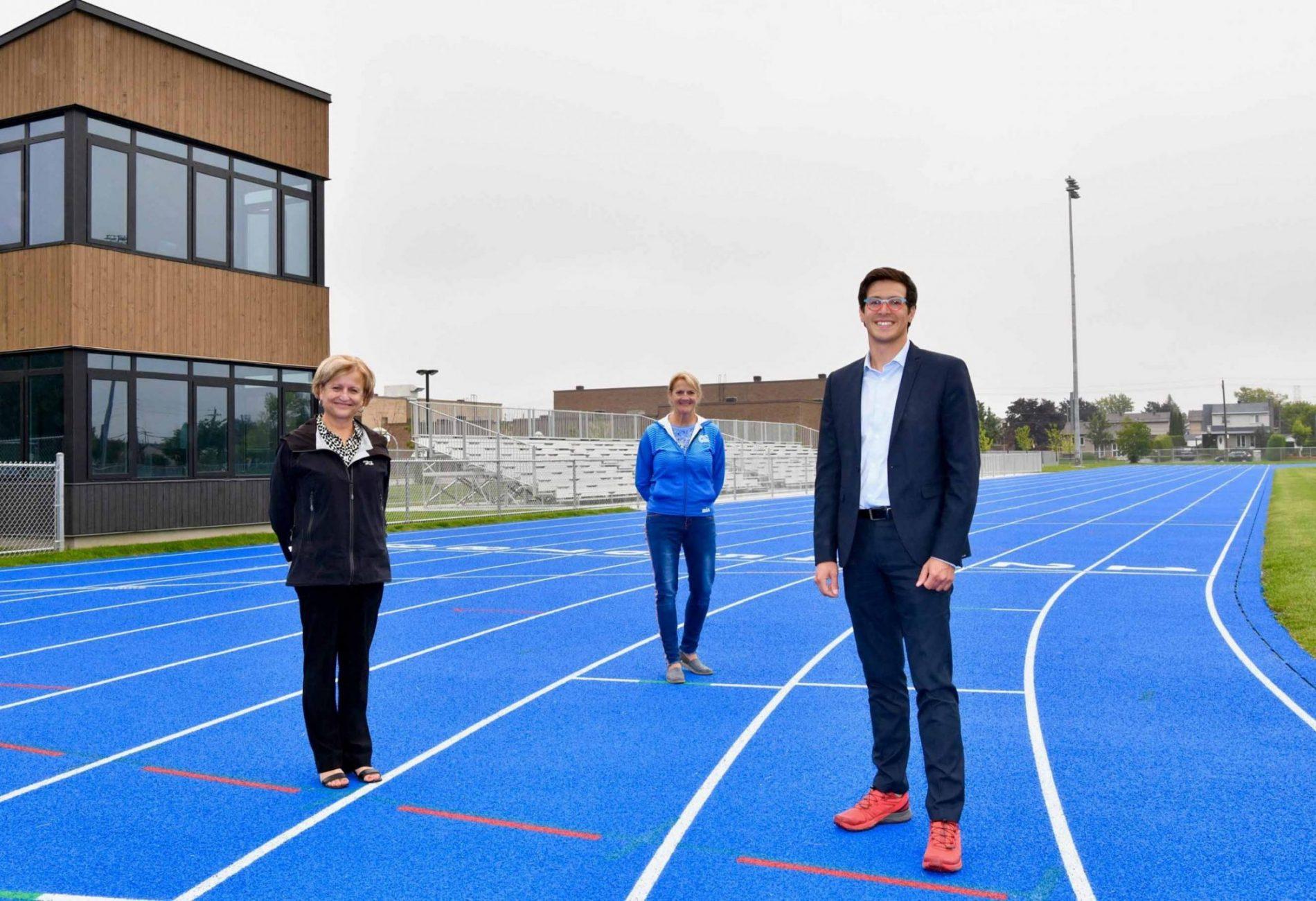 Laval's Claude-Ferragne Athletics Stadium now open in Auteuil