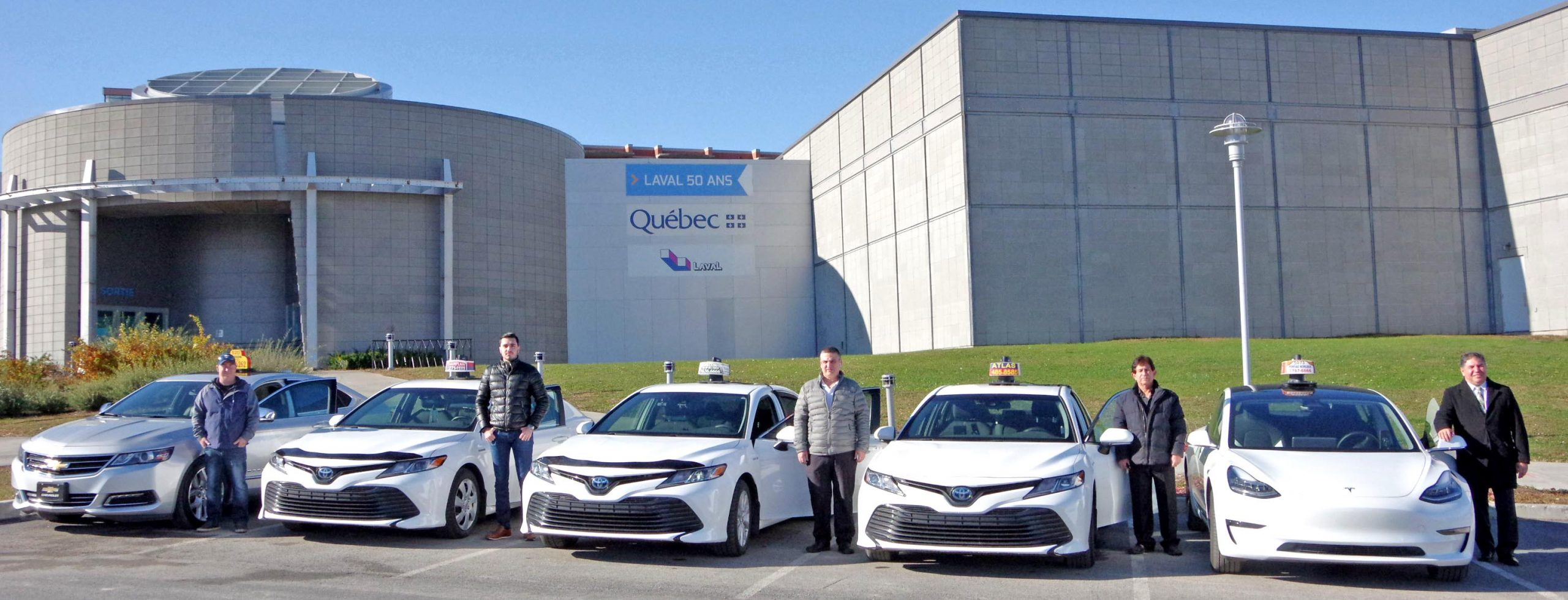 A new day dawns for the Montreal region's taxi services