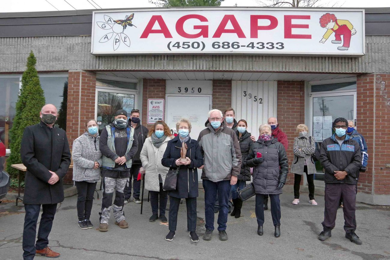 Agape aims to open a satellite office in eastern Laval by 2024