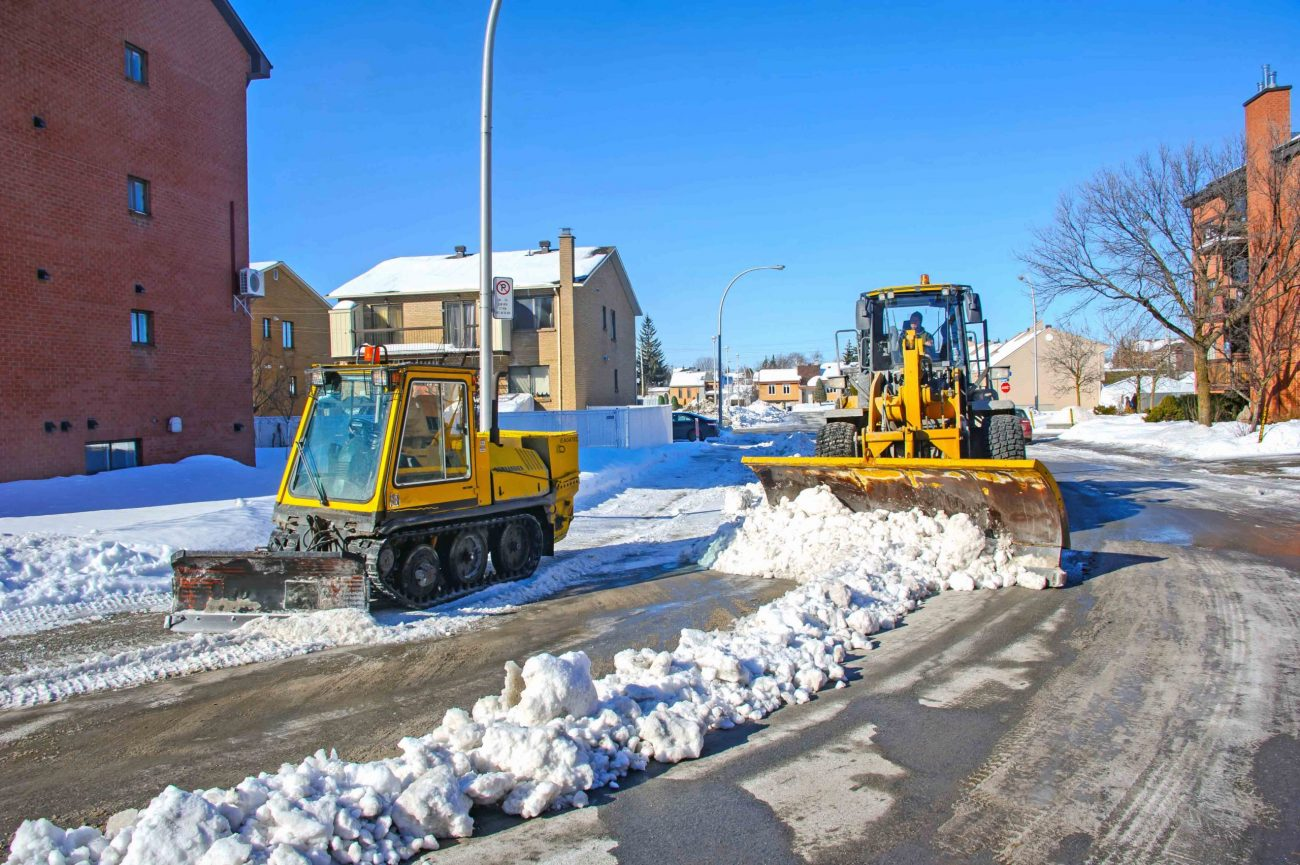 City says it's ready for snowfall expected this weekend
