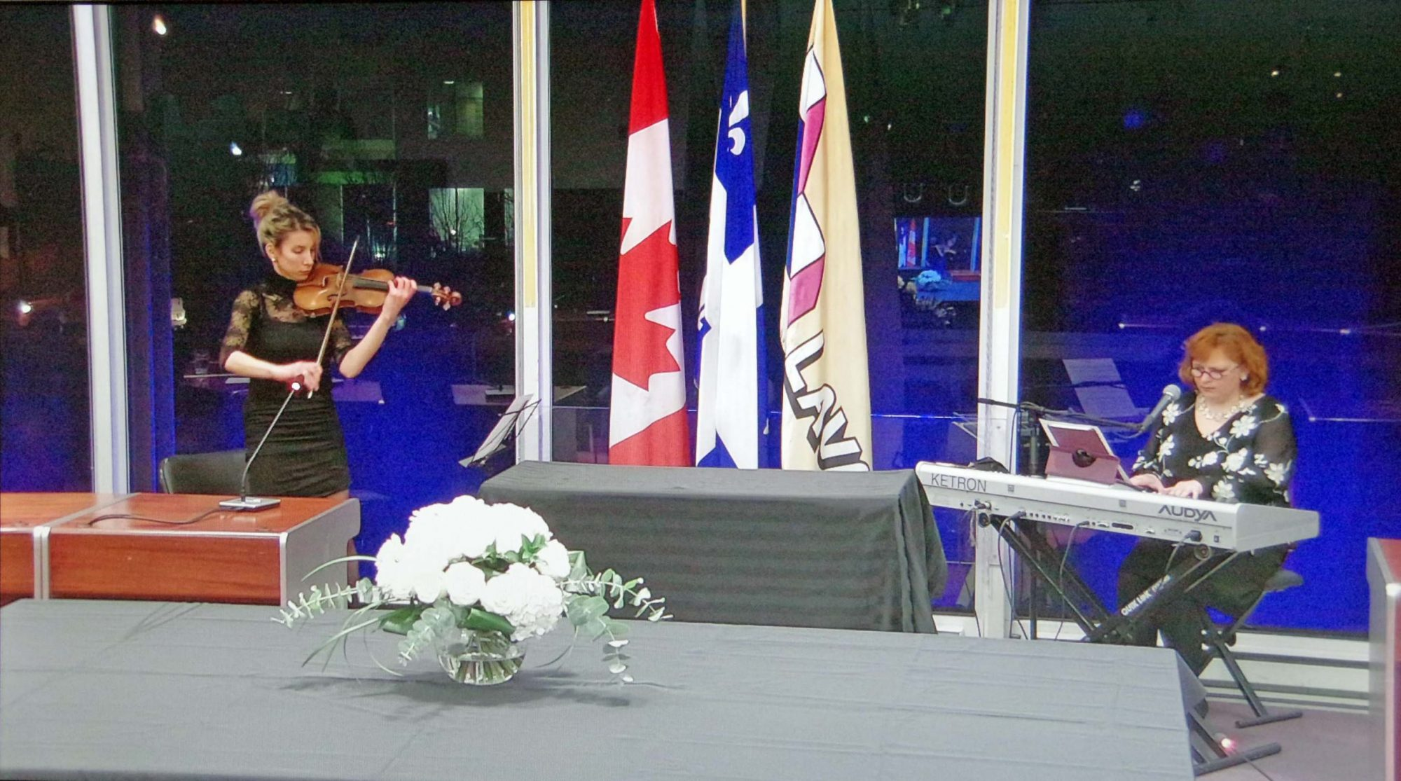 Quebec, Laval, CISSS officials pay homage to Laval's COVID-19 victims