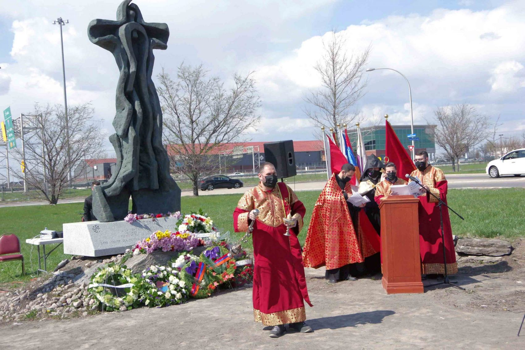 Officials and community mark Armenian Genocide Remembrance Day