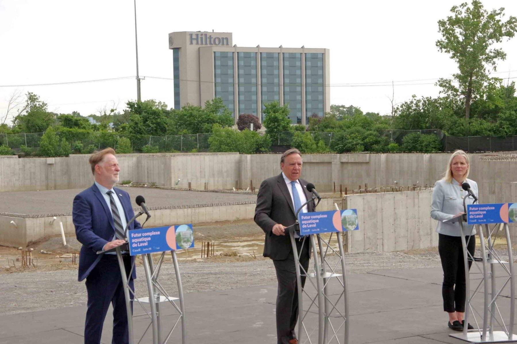 Ottawa and Quebec help revive Laval's on again/off again Aquatics Complex project