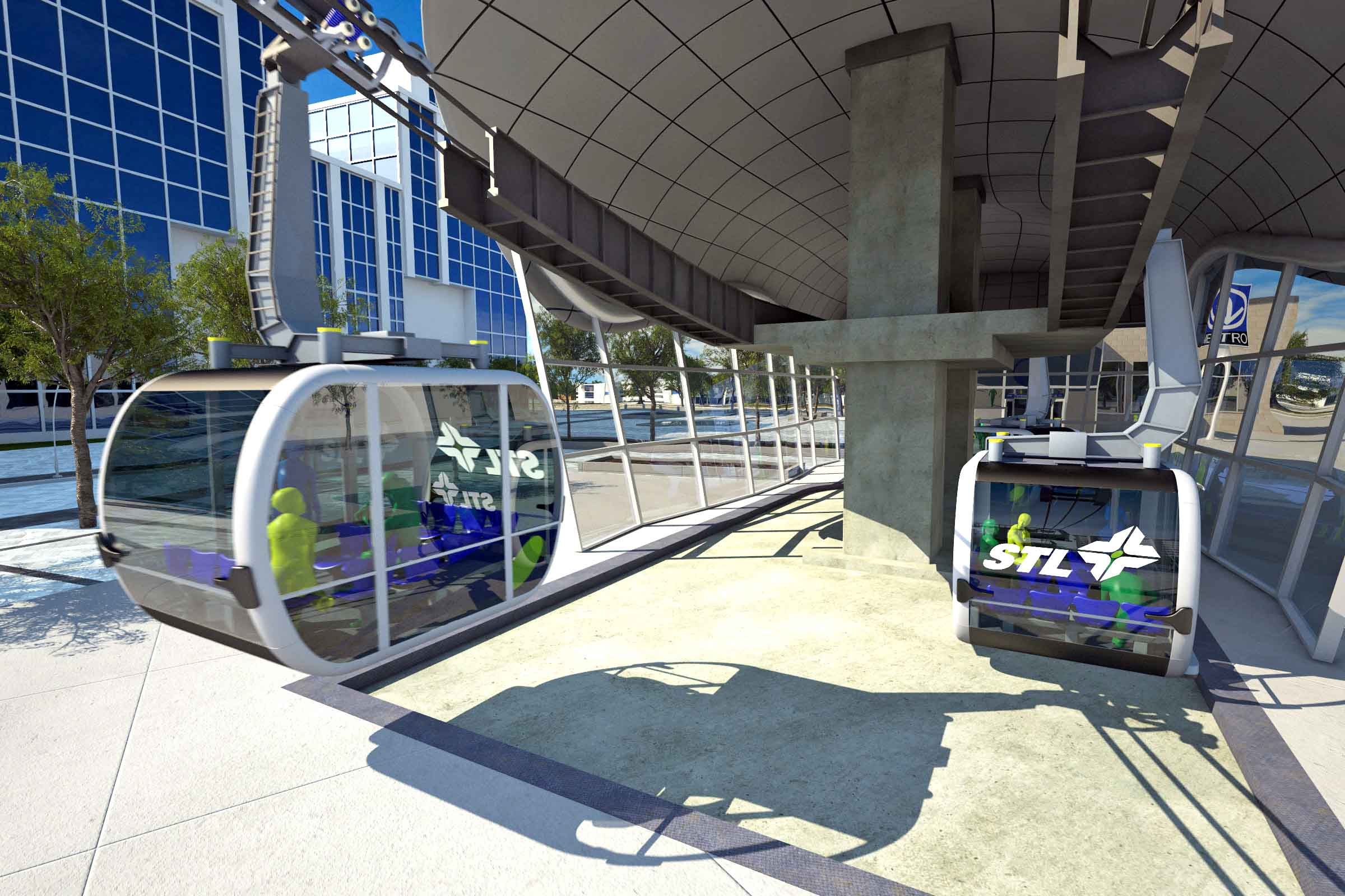 Laval's surface tram project recalls abandoned 'elevated' tram plan