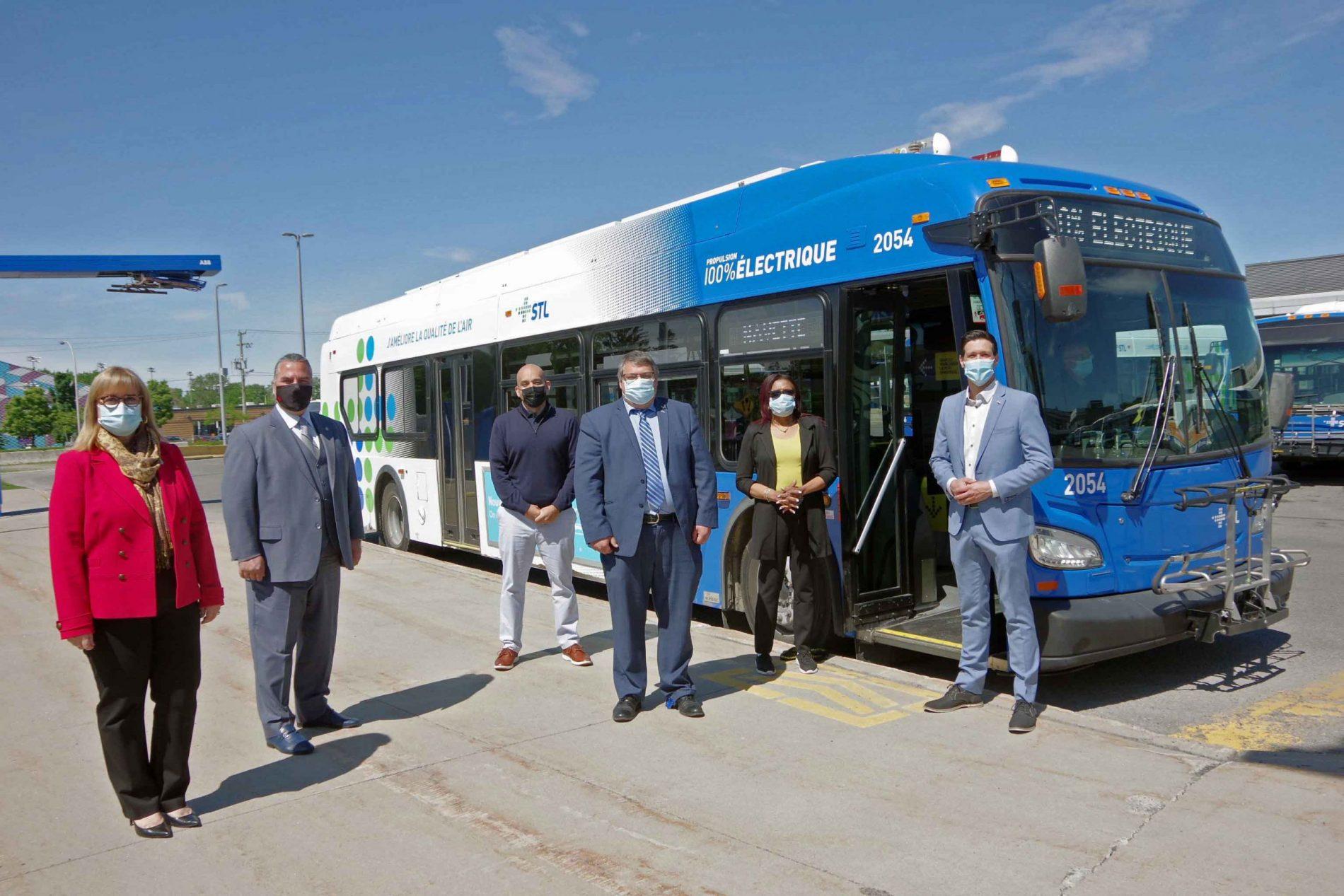 Société de transport de Laval purchases its first all-electric buses