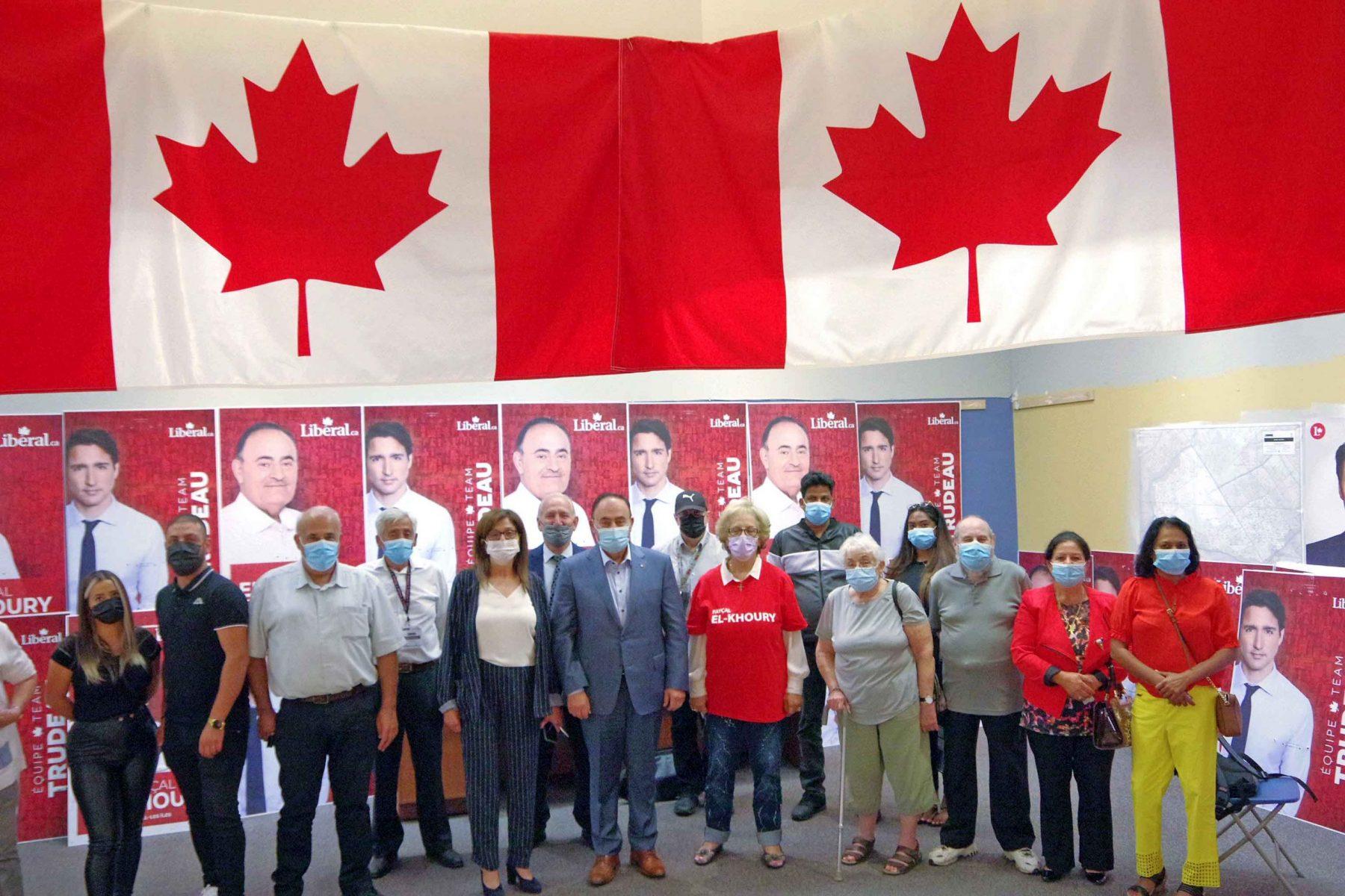 Laval-Les Îles Liberal Fayçal El-Khoury wins a third term